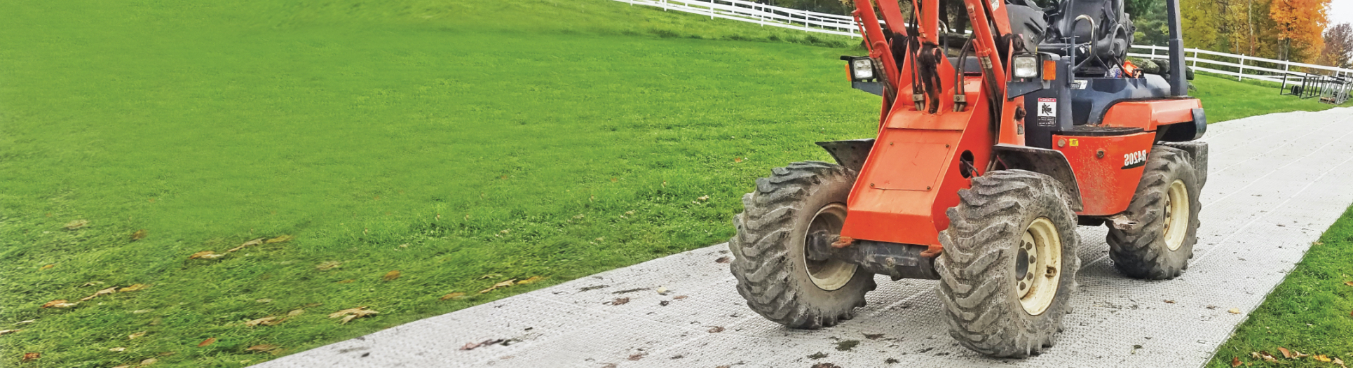 Tractor on Workhorse Panels