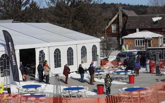 Winter Event in Woodstock, Vermont